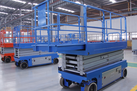 Electric self-propelled scissor lifts for sale and rental