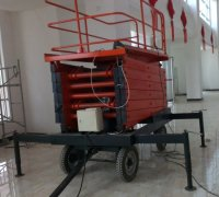 How operating scissor lift height affects safety measure