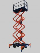 Scissor lift machines hydraulic transmission features
