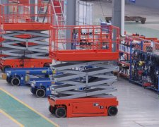 Avoid accident-aerial scissor lift driving in foggy weather