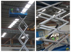 Rough-terrain scissor lifts-open and closed circuit