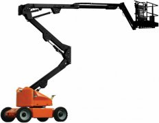 Keep self propelled boom lift power system in good condition